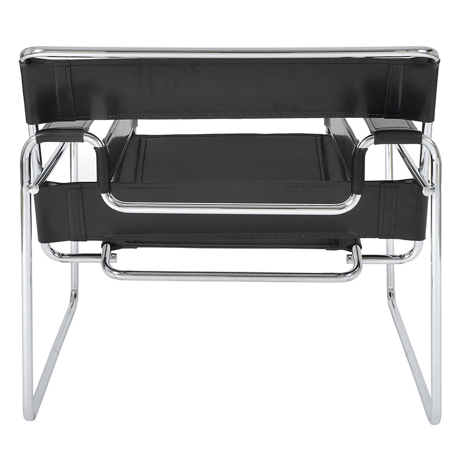 Modern classic chairs wassily black chair eurway - Wassily chair price ...