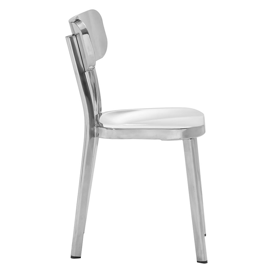Weiland Polished Modern Dining Chair