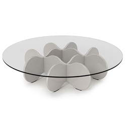 Wellington Modern Off White Coffee Table