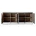 Wendall Gray Washed Elm Contemporary Buffet