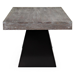 Wendall Contemporary Rectangular Elm Top Dining Table