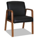Wendell Walnut Contemporary Reception Chair