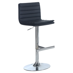 Wendy Modern Black Adjustable Stool