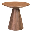 Westerly Walnut Contemporary Side Table