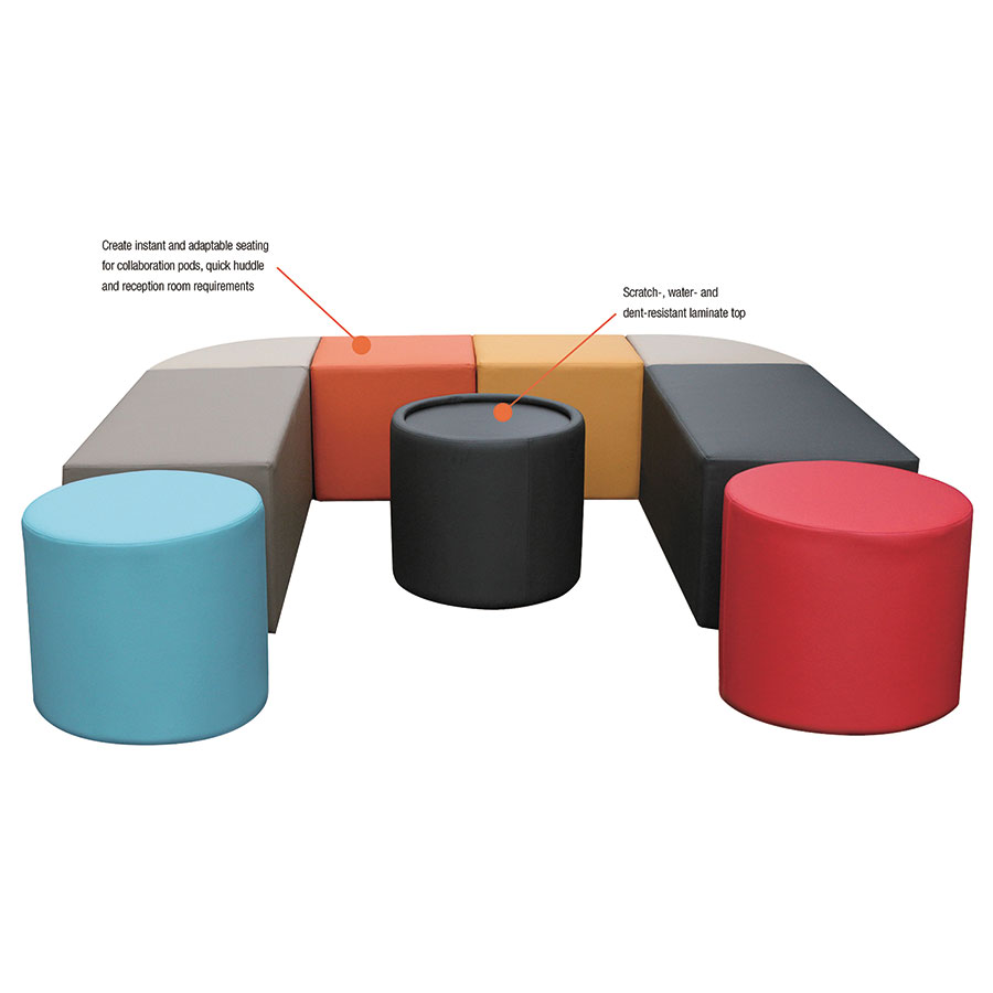 Westin Modern Modular Collaborative Seating + Table