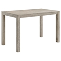 Westlake Contemporary Outdoor Wood Bar Table