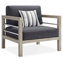 Westlake Contemporary Outdoor Wood Chair