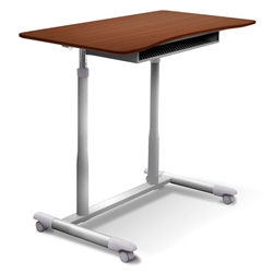 Westwood Modern Adjustable Desk in Cherry