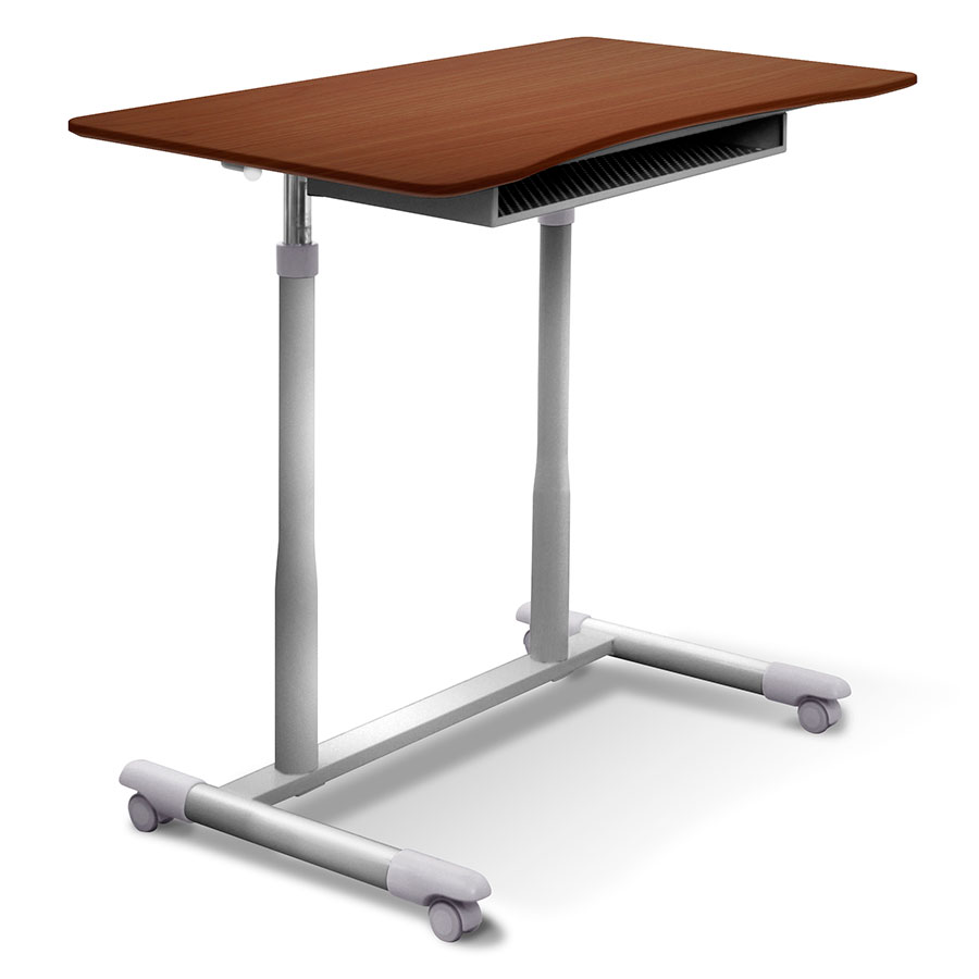 modern desks | westwood adjustable cherry desk | eurway