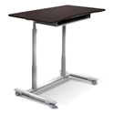 Westwood Modern Adjustable Desk in Espresso