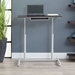 Westwood Contemporary Adjustable Laptop Desk in Espresso - Raised