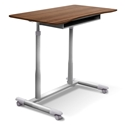 Westwood Modern Adjustable Desk in Walnut