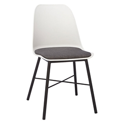 Whistler White Modern Dining Chair by Unique Furniture