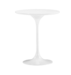 Wilco Modern White Side Table