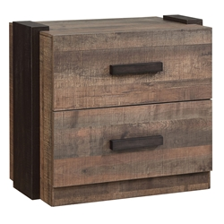 Williams Rustic Contemporary Nightstand