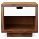 Wilson Contemporary End Table in Walnut by Gus Modern