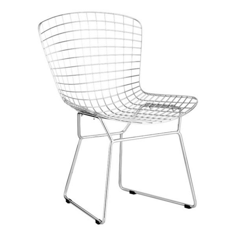Webster Modern Chrome Dining Chair