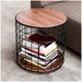 Wireframe Modern End Table by Gus Modern