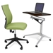 Workpad Adjustable Laptop Desk + Kaja Office Chair