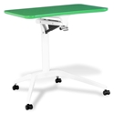 Workpad Modern Adjustable Laptop Desk in Green/White