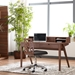 Yale Contemporary Walnut Desk