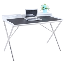 Yancey Modern High Gloss White Desk