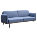 Yestin Modern Sofa Bed in Blue by Euro Style
