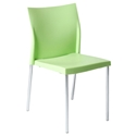 Yeva Green Modern Dining Side Chair