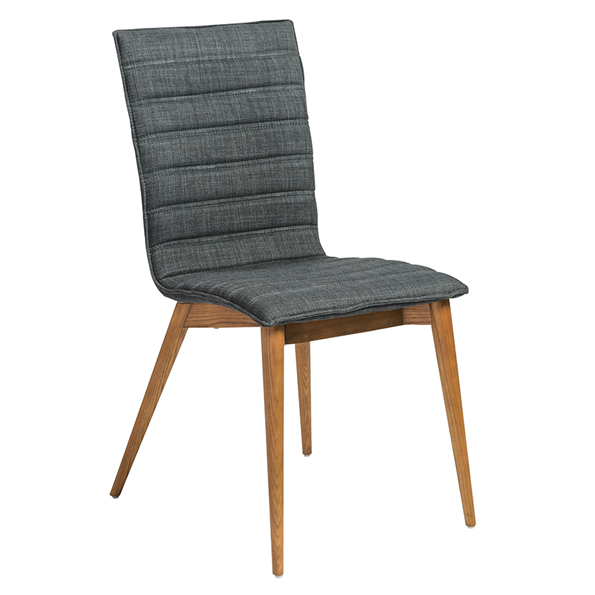 Yoland Charcoal Modern Dining Chair