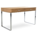 York Modern Natural Oak Desk by sohoConcept