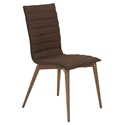 Yuma Brown Modern Dining Chair