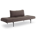 Zeal Modern Sleeper Sofa in Dark Grey by Innovation