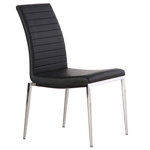 Zoe Black Modern Dining Chair