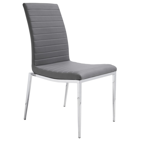 Zoe Gray Modern Dining Chair