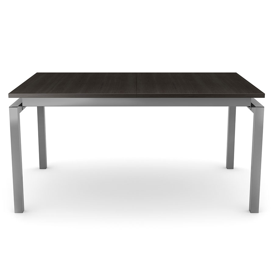 Zoom Modern Dining Extension Table by Amisco - Magnetite