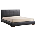amelie modern black bed