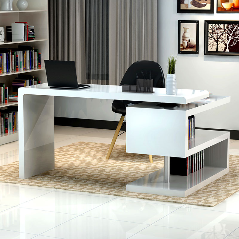 Modern Desk modern desks | atkinson desk + bookcase | eurway modern