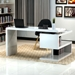 Atkinson Contemporary Desk with Shelving