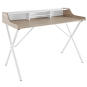 Baltimore Modern Oak Writing Desk