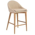 Barrett Modern Tan Counter Stool