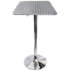 Brandy Modern Square Bar Table