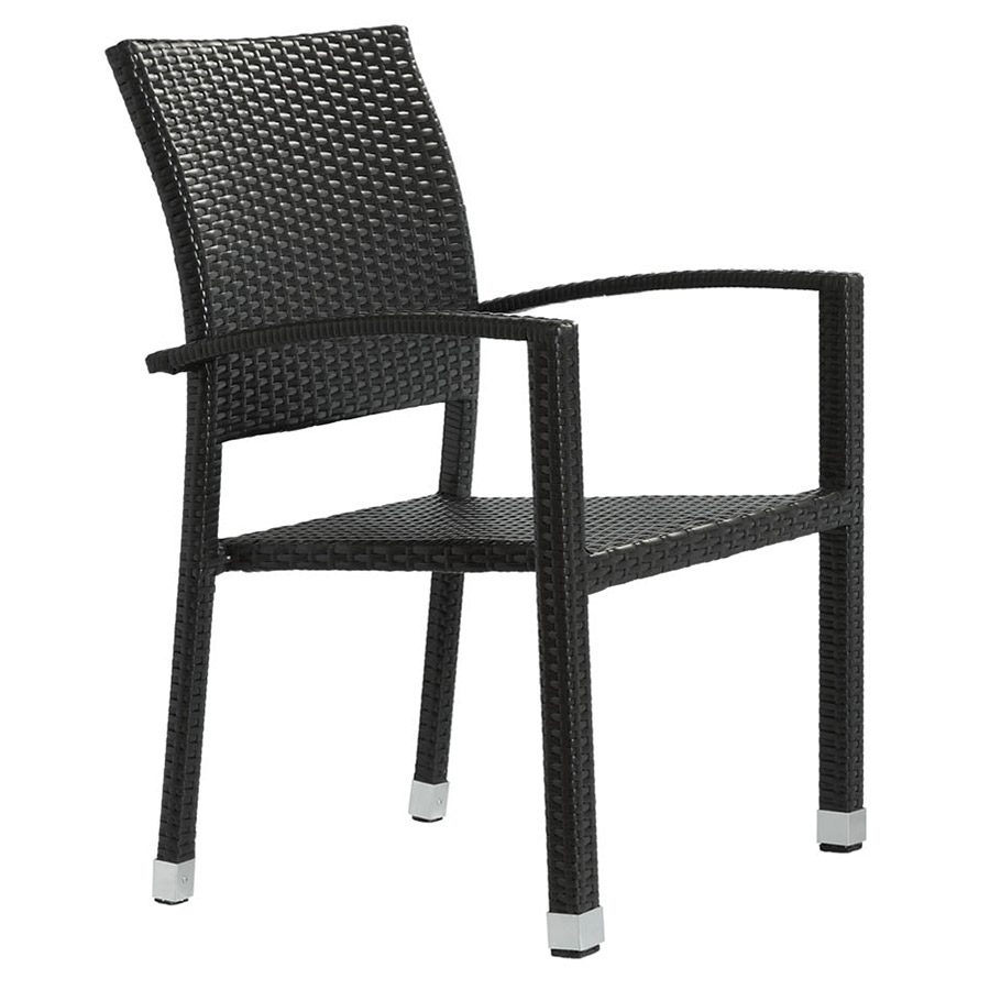 Brandon modern outdoor dining chair eurway furniture for Modern outdoor dining chairs