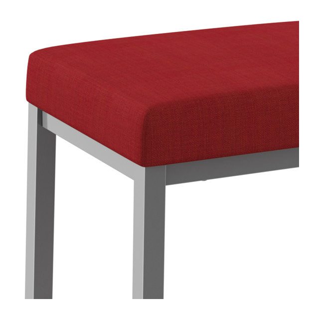 Braxton Bar Stool in Platina and Flame