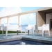 Canyon Modern White Outdoor Seating Collection