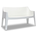 Coccolona Modern Outdoor Sofa in White