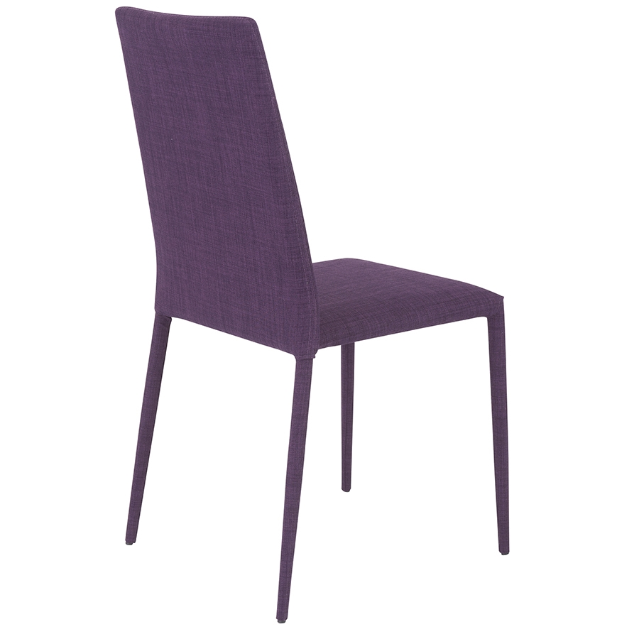 chester modern purple dining chair eurway furniture. Black Bedroom Furniture Sets. Home Design Ideas
