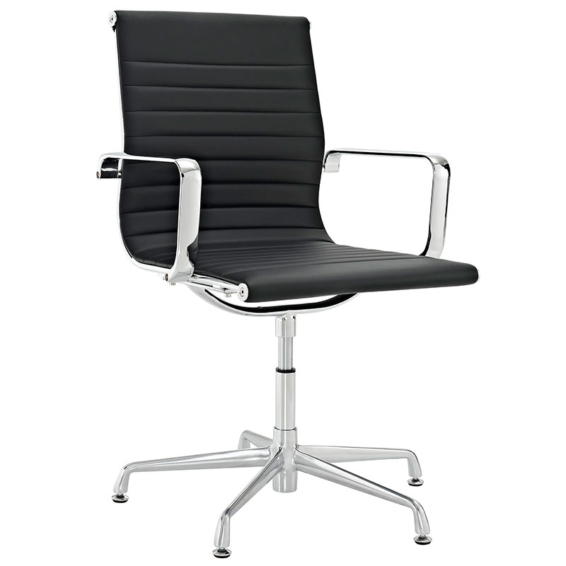 Beautiful Call To Order · Classic Modern Conference Chair In Black