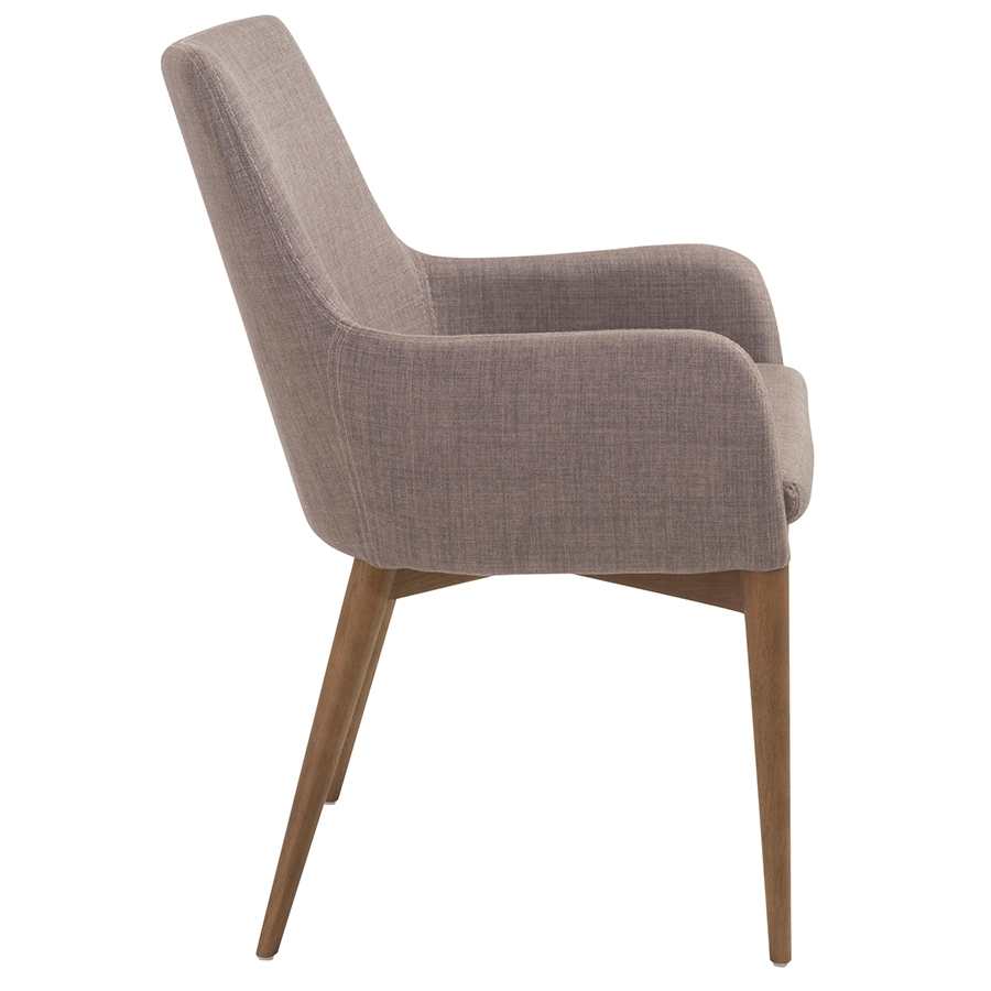 Modern dining chairs clayton gray arm chair eurway for Contemporary armchair