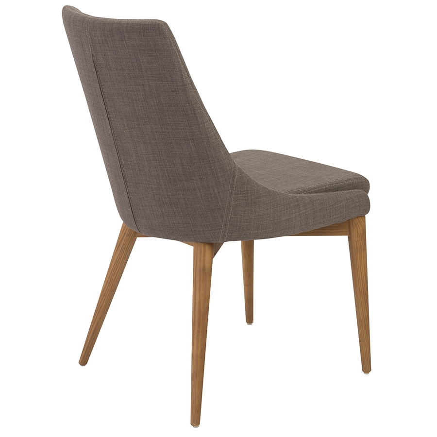 ... Clayton Gray Modern Side Chair   Back View