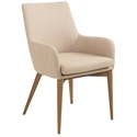 Calais Tan Modern Arm Chair
